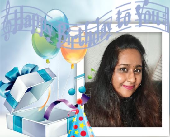 பாடகி செல்வி செல்வி தேவிதா தேவராசாவின் பிறந்தநாள் வாழ்த்து:(14.08.2021)